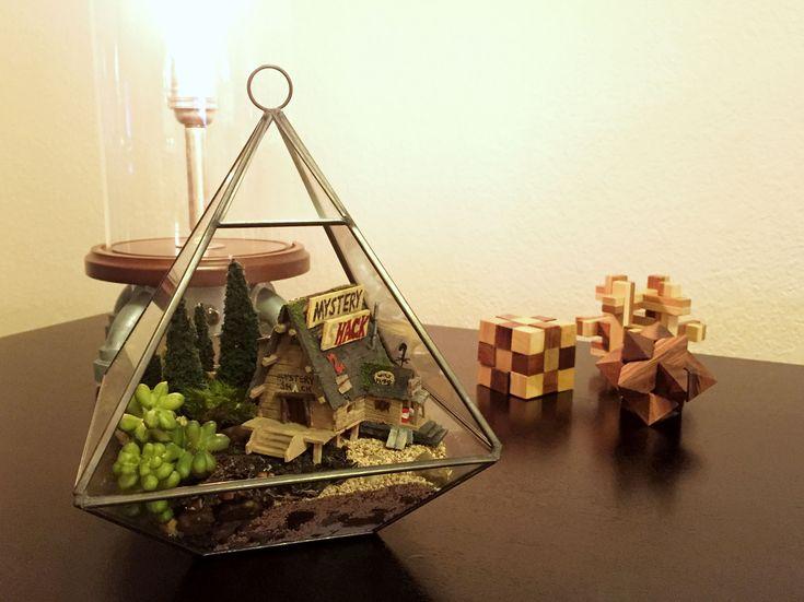 Mystery Shack Terrarium