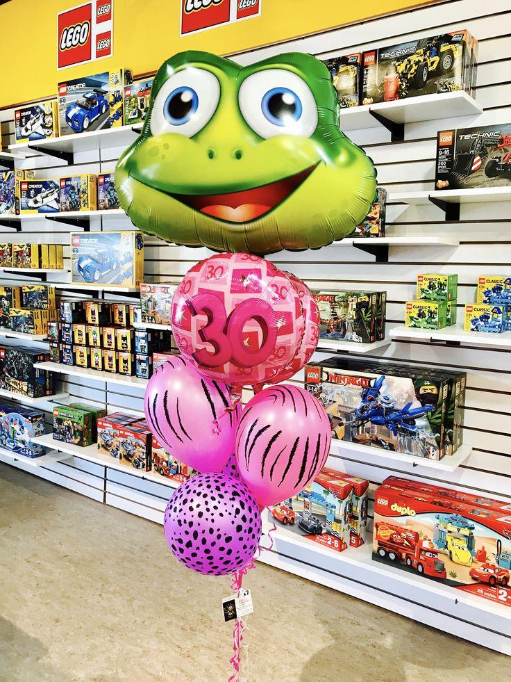 Anniversaire 30 ans , Bouquets de Ballons à l'hélium pour Fête, Livraison effectuée par La Boîte À Surprises de Nicolas, boutique de St-Sauveur
