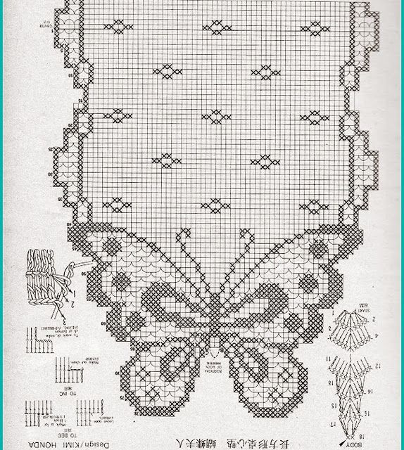 Realistic 3d Butterfly in Crochet. See the step by step of this Beautiful Model in Yarn - Crochet Patterns