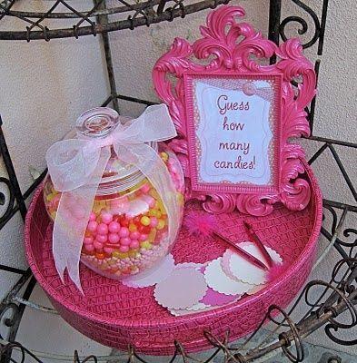 peach bridal showers bridal shower