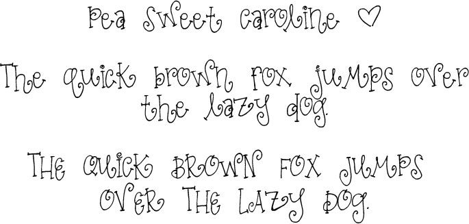 Fonts for Peas: the cutest handwriting fonts on the internet