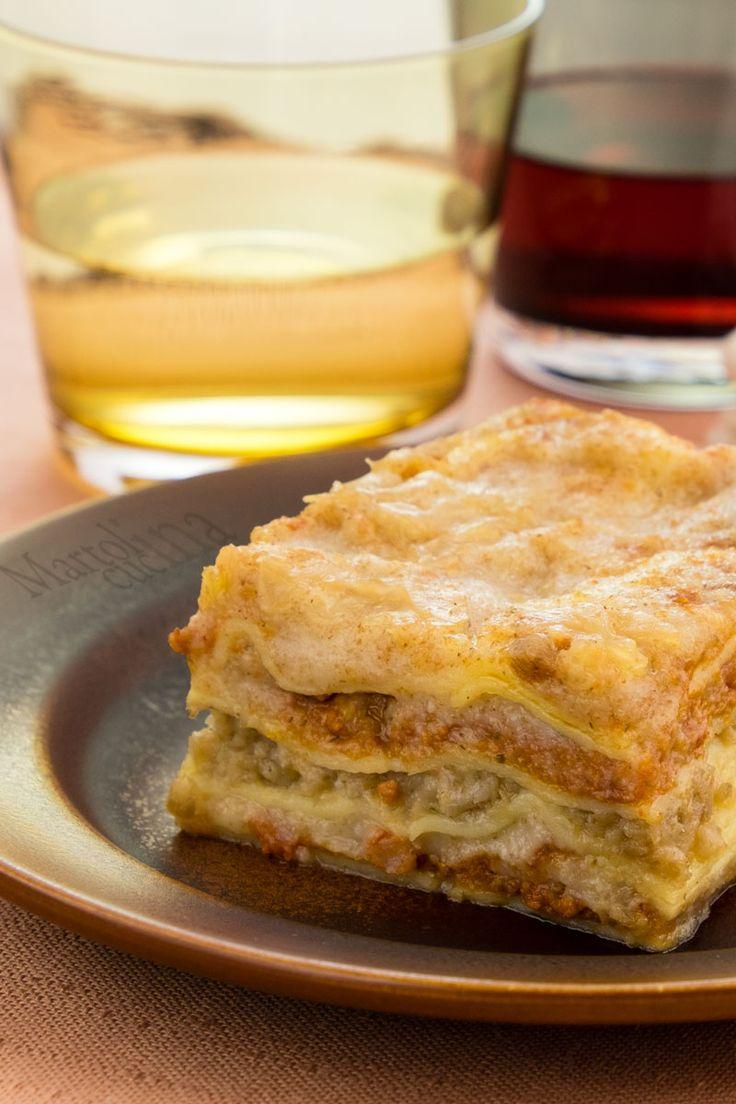 LASAGNE CON BESCIAMELLA E RAGU VEGETARIANI #lasagne #vegetariano #tofu #raguvegetariano #ragu #besciamella #besciamellavegetariana #primo #piattounico #ricettafacile