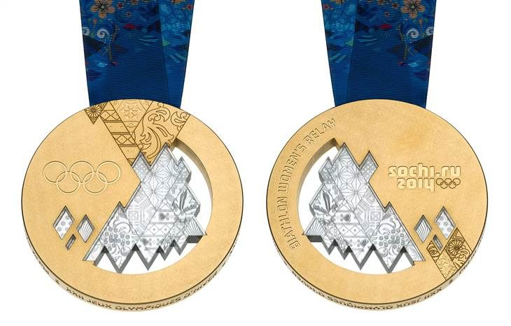 Big, bright and beautiful: Sochi 2014 medals by the numbers - TODAY.com