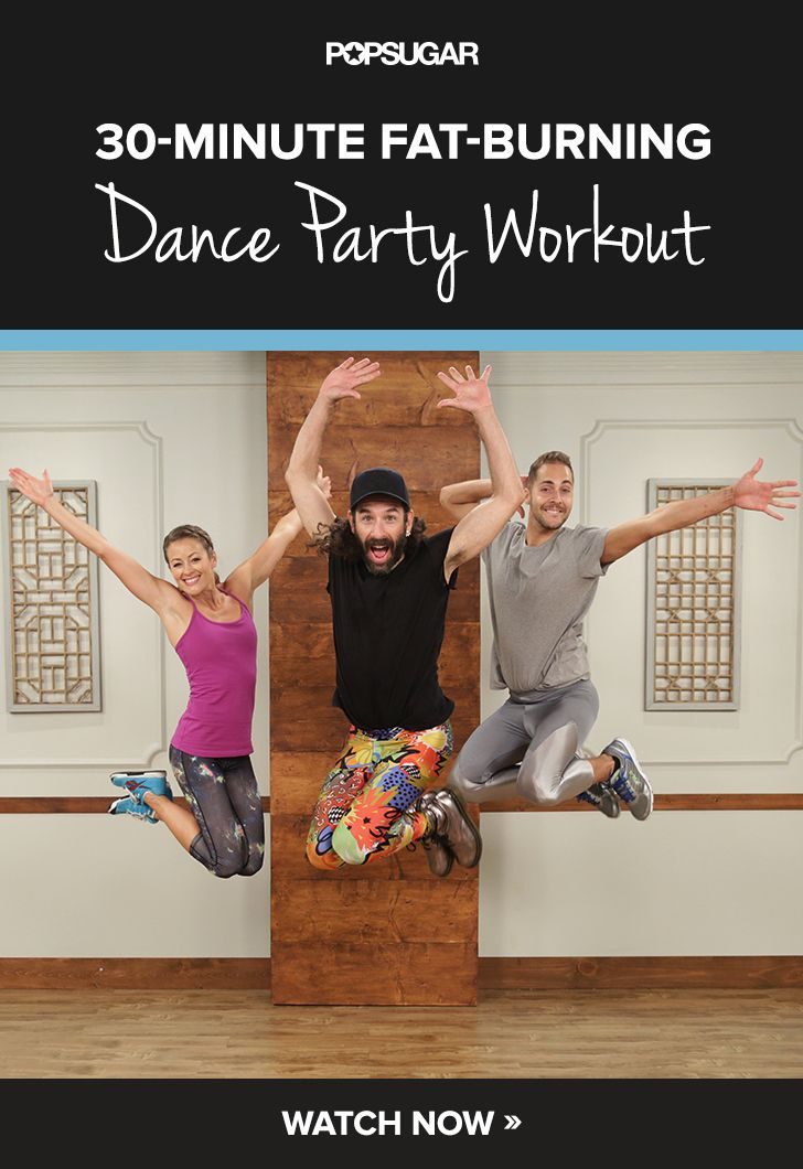 This dance workout video is so fun you will forget you're exercising.