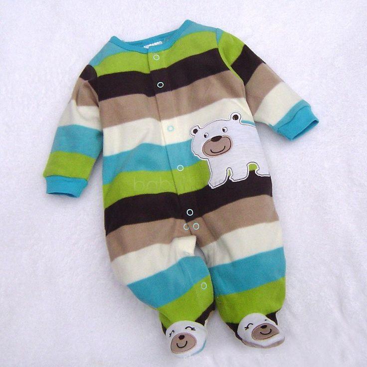 最高の価格!赤ちゃん幼児服幼児ロンパース暖かいパーカーソフト漫画ボディスーツ衣装ジャンプスーツ30