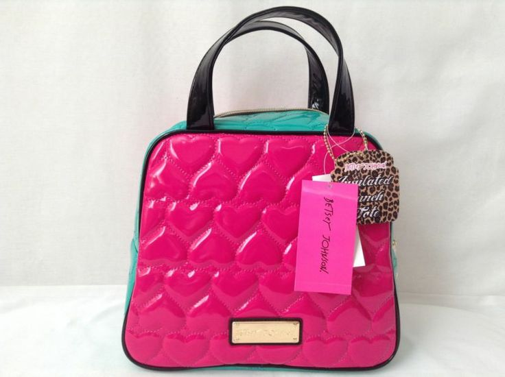 Details About Betsey Johnson Dome Lunch Tote Bag 68