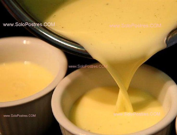 Crema de mandarinas con leche condensada