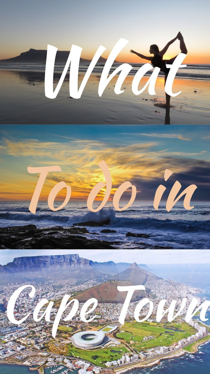 All the best things to do in Cape Town, South Africa.