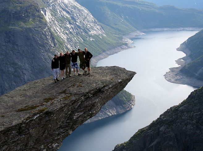 27 Surreal Places To Visit Before You Die | Trolltunga in Hordaland, Norway
