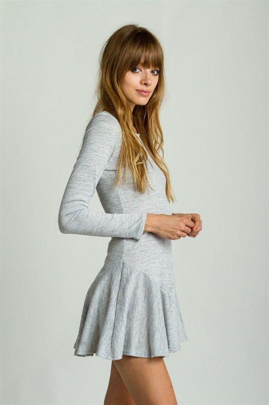 Mini Dress | Pleated Skater Dress