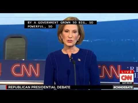 (9/16/2015) CNN Republican Primary Debate for 2016 (FULL)