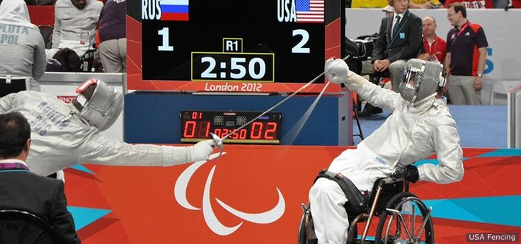 Five For Friday: Wheelchair Fencing