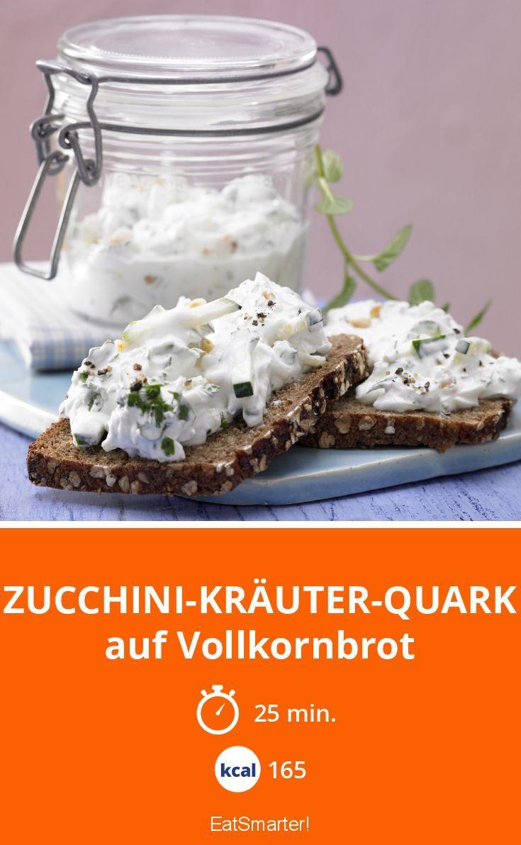 Zucchini-Kräuter-Quark