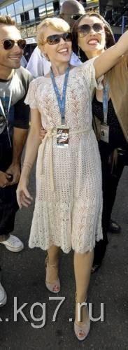 Платье Кайли Миноуг | Клубок