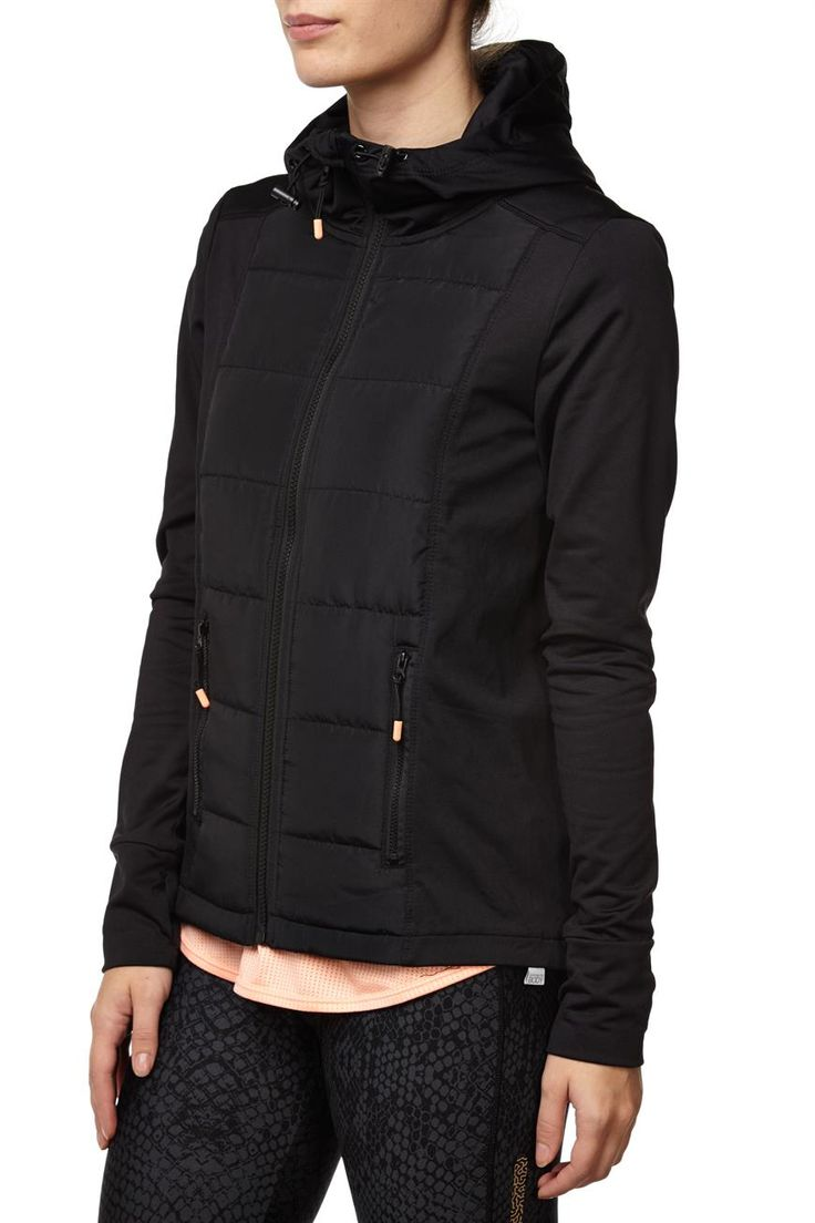 Health Goth // Cotton On / Slim Puffer Jacket, BB BLACK