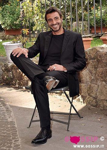 Daniele Liotti | Daniele Liotti a Roma presenta alla stampa la fiction 'Le due facce ...