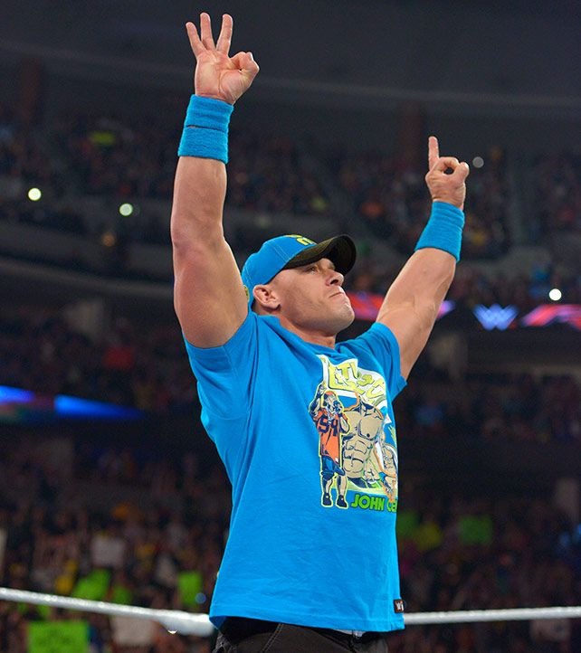 Raw 2/2/15: John Cena celebrates the return of three Superstars
