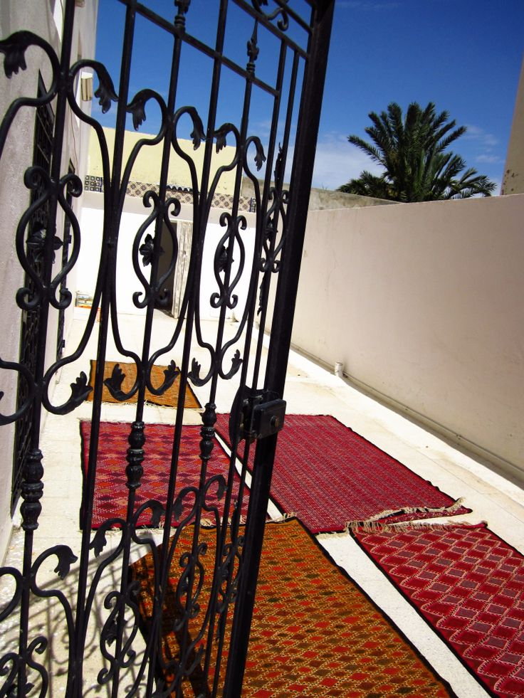 Traditional carpets from Tunisia