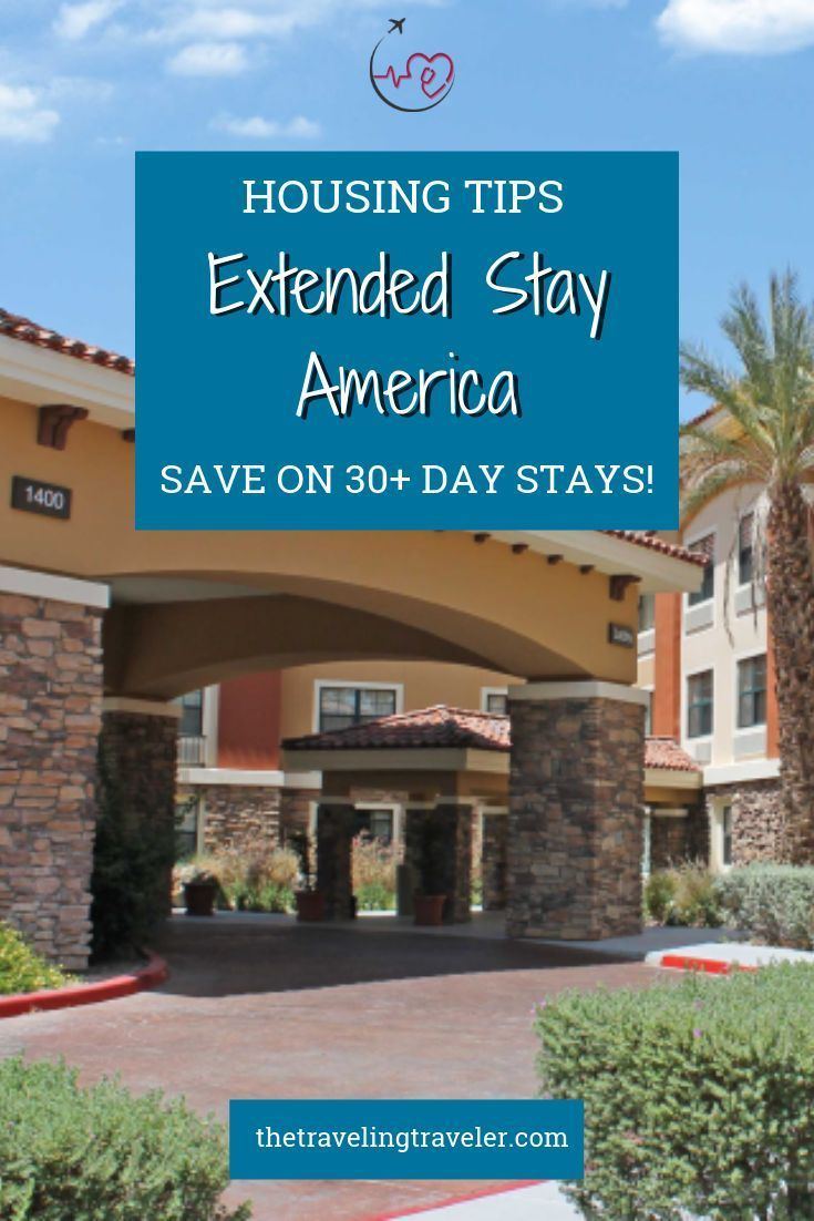 Save Up To 40 Off Any Length Of Stay At All Extended Stay America Hotels Travel Nursing Traveling Speech Therapist Extended Stay