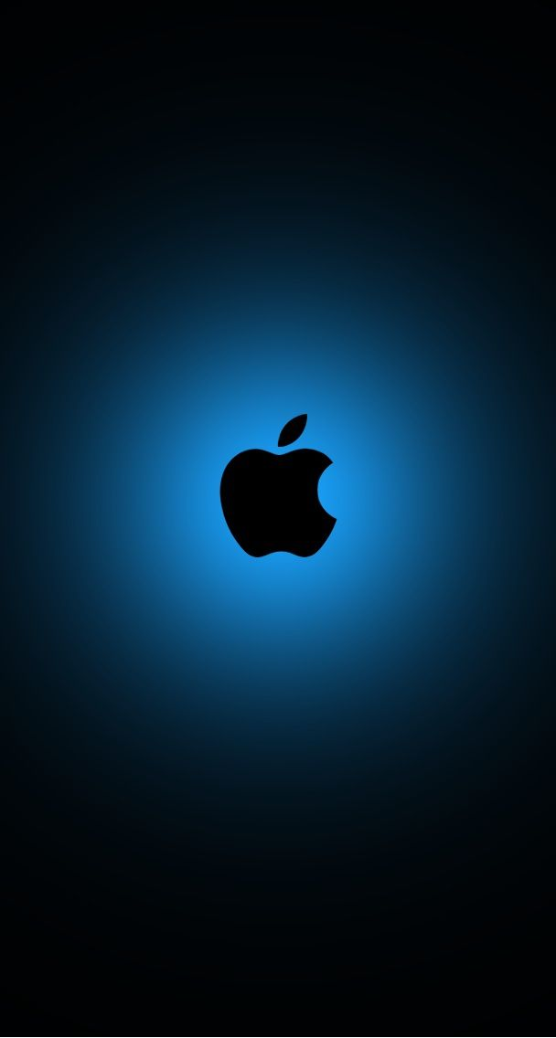The Apple Logo On Wall Wallpapers HD Desktop