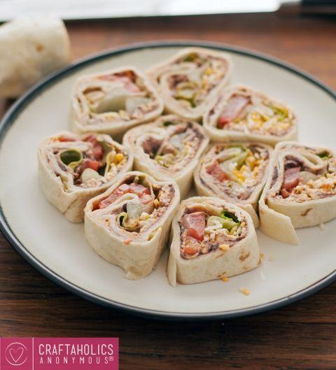 Vegetarian+Taco+Pinwheels