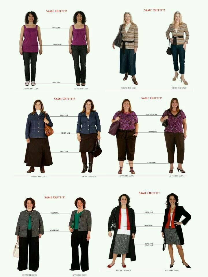 """It's more important to understand how proportion works for you, that what your """"body shape"""" might be ... this is a great example of small changes that make a big difference!   www.coriburchell.com/styleclarity"""