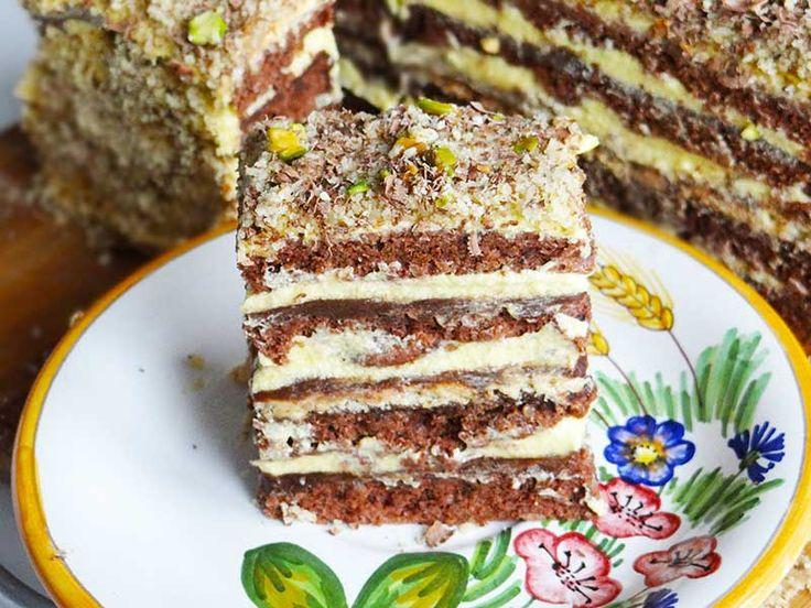 Prăjitură cu nucă/ Walnuts cake