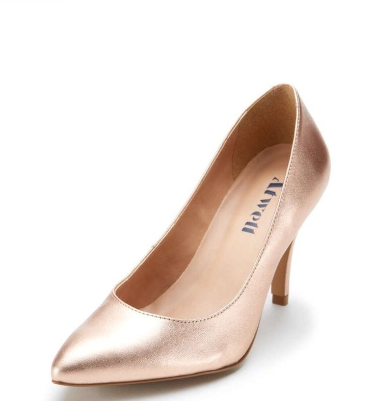 Atwell Evening Leather Metallic Stiletto Rose Gold Wedding Shoes. Atwell Evening Leather Metallic Stiletto Rose Gold Wedding Shoes on Tradesy Weddings (formerly Recycled Bride), the world's largest wedding marketplace. Price $15.00...Could You Get it For Less? Click Now to Find Out!