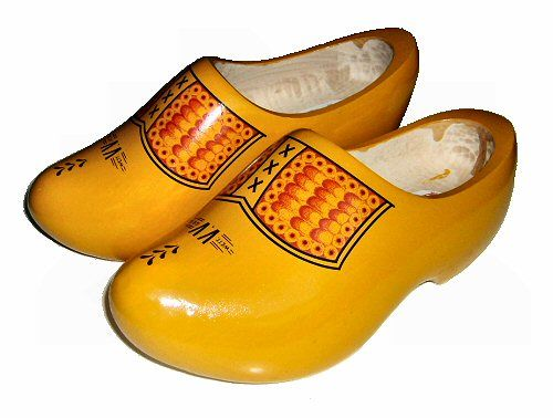"""These Dutch wooden shoes are a symbol of The Netherlands. when people think about The Netherlands, they will automatically think about the wooden shoes. I personally think that they look funny. The woonden shoes give mee that """"home"""" feeling, even though I have never worn them. (Kevin Ewalds)"""