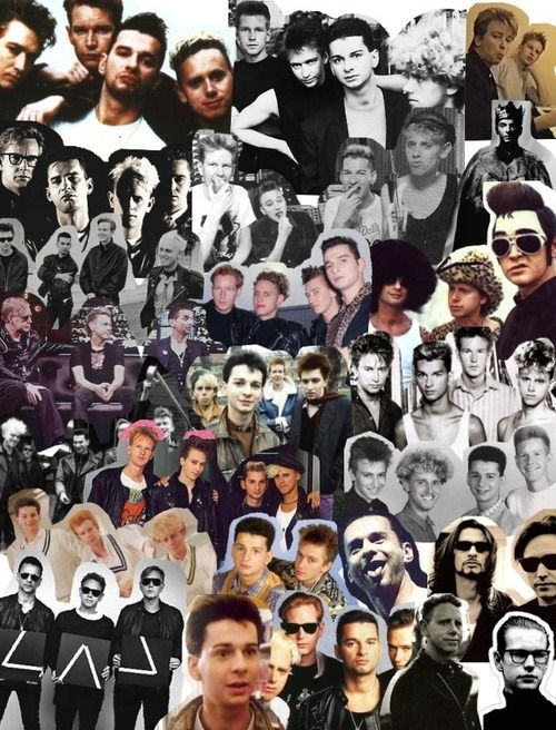 Depeche Mode, back in the day I made one almost exactly like this!