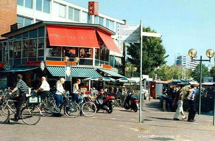 Enschede, Hermesflat bij het Van Heeksplein, Boulevard 1945 en Van Loenshof