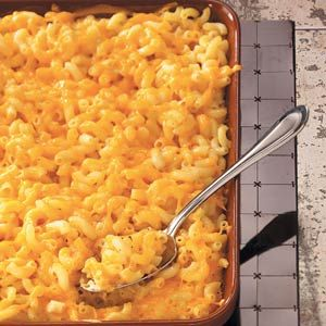 Old-Fashioned Macaroni and Cheese Recipe -Bring back the taste of days gone by with this ooey-gooey mac-and-cheese classic. A little ground mustard and hot pepper sauce give it just the right spice. —James Backman, Centralia, Washington