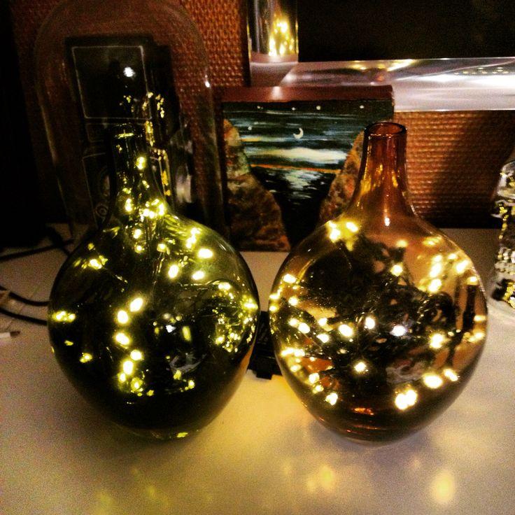 Diy glass/bottle lamps
