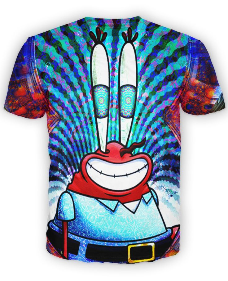 MR KRABS Dopest Threads Mr krabs, Shirts, Tie dye