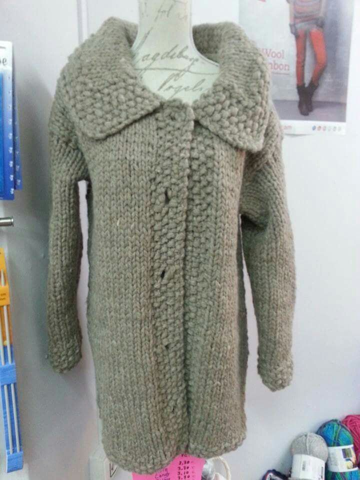 Abrigo a dos agujas de lana