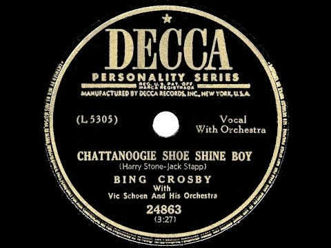 """1950. Red Foley  """"Chattanoogie Shoe Shine Boy"""""""