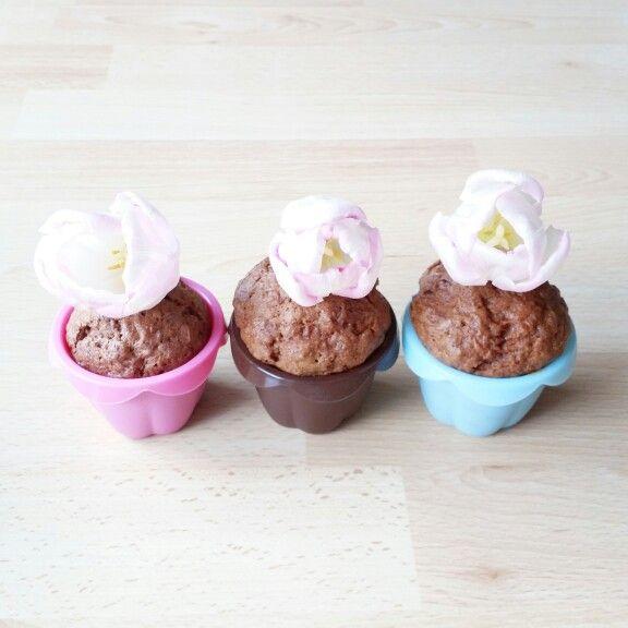 Muffiny marchewkowe #perfecthome #blogger #blog #inspiration #interior #homeinterior #decorated #homedesign #muffins #cake #chocolatecake #chocolate #Ikea #pink #blue #flowers #tulips #kitchen #home