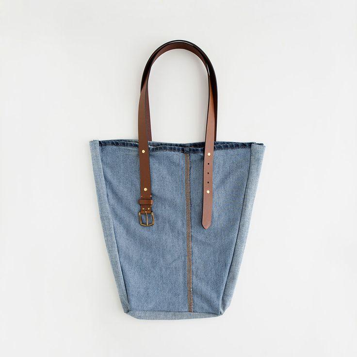 Come trasformare i vecchi jeans in una borsa   Fai da Te Creativo