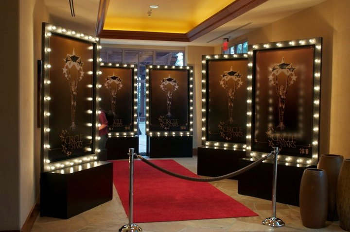 Hollywood Glam Theme Decor     For pricing contact: Andrea@eventservicesofamerica.com
