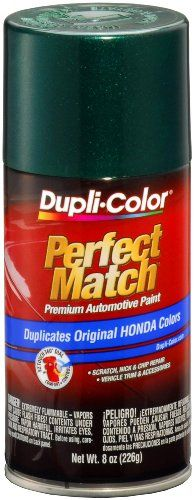 Dupli-Color BHA0976 Clover Green Pearl Honda Exact-Match Automotive Paint - 8 oz. Aerosol - http://www.caraccessoriesonlinemarket.com/dupli-color-bha0976-clover-green-pearl-honda-exact-match-automotive-paint-8-oz-aerosol/  #Aerosol, #Automotive, #BHA0976, #Clover, #DupliColor, #ExactMatch, #Green, #Honda, #Paint, #Pearl #All-Green-Automotive, #Green-Automotive