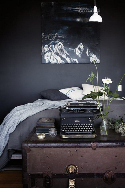 Dark Decor | Vintage Home | Furniture | Ideas