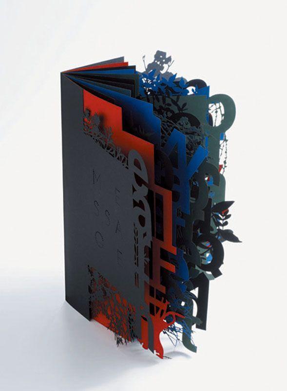 papier ! fazer numa, com um fundo de cor ou de texto mito concentrado na pagina seguinte