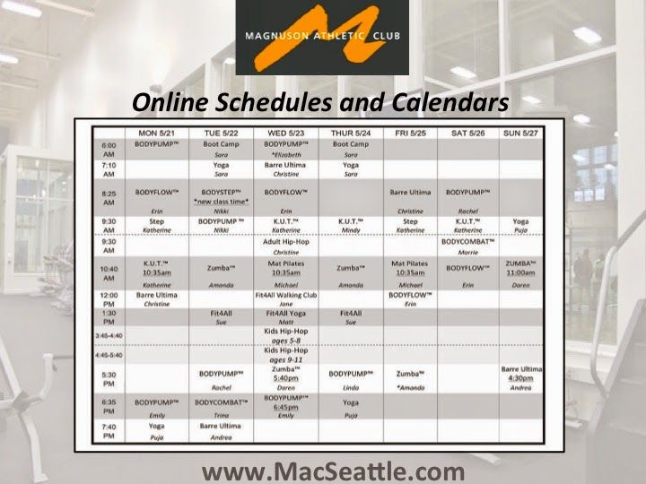 Magnuson Athletic Club http://macseattle.com