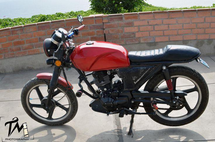Vendo Moto Italica 2014 Modificada Café racer con SOAT todo el 2016!   Segundamano.pe
