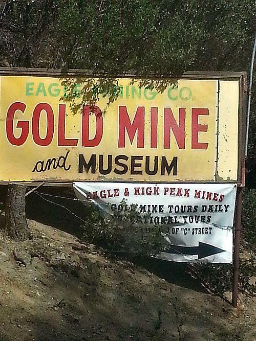 Gold Mining Tours In Julian, California