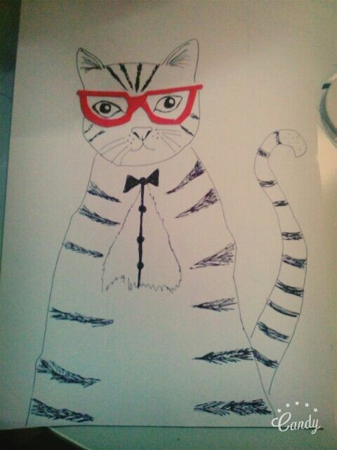 My art KITTY!!!!