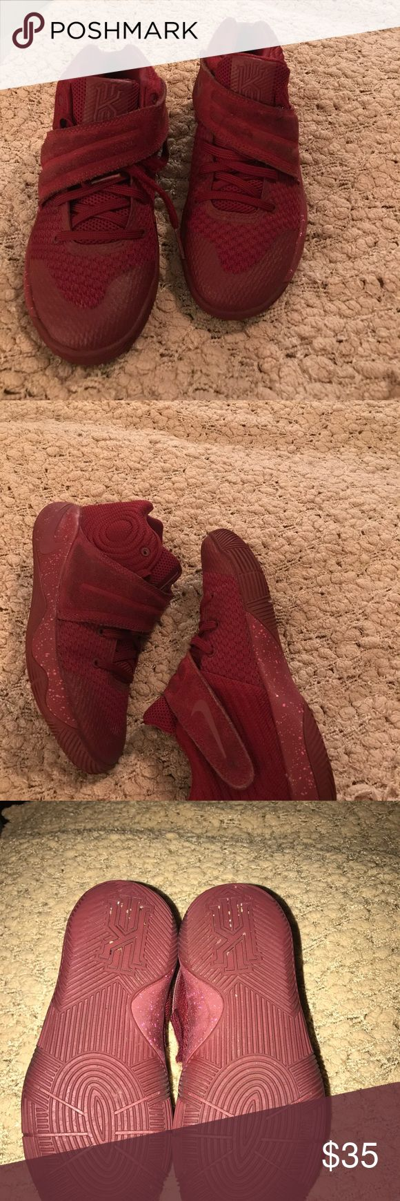 Kyrie Irving 2 Good condition the suede cross strap is a little dirty but other than no flaws only worn about 5 times Nike Shoes Sneakers