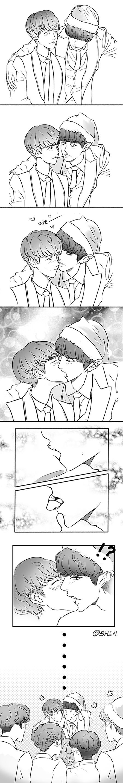 kekeke....i don't know.. i'm blushing #baekyeol cr.-EXOplanet MAMA