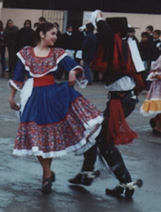 Chile national costumes