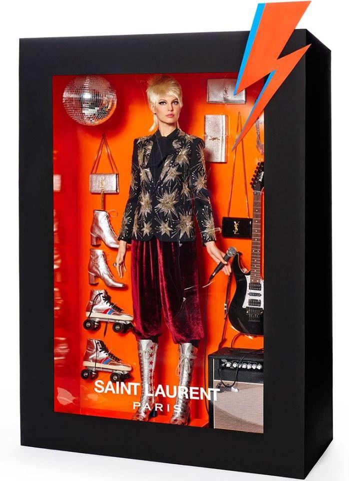 """muñecas de alta costura"" #SaintLaurent"
